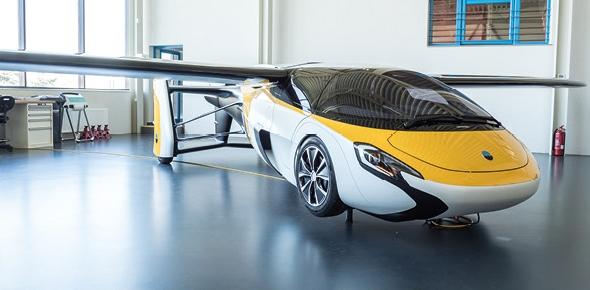 REPORTÁŽ: AeroMobil 4.0 naživo!