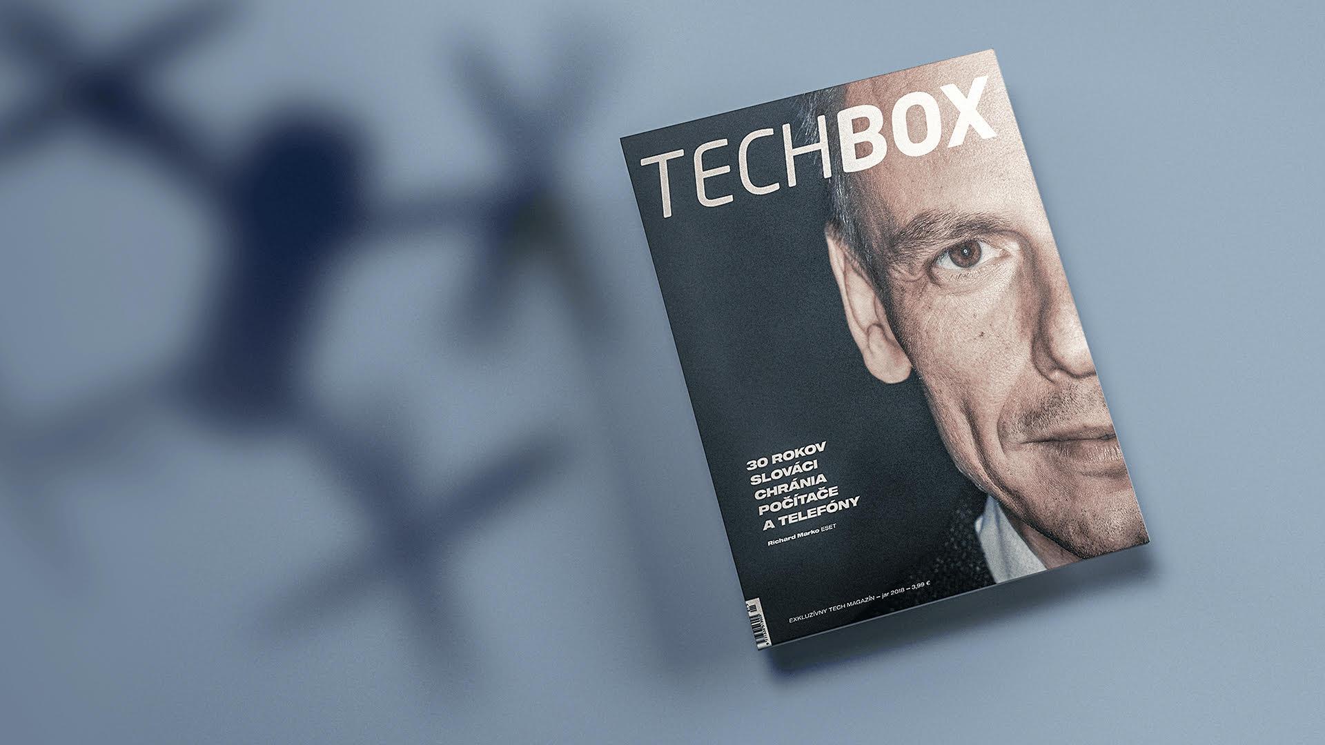 Predplatné časopisu TECHBOX