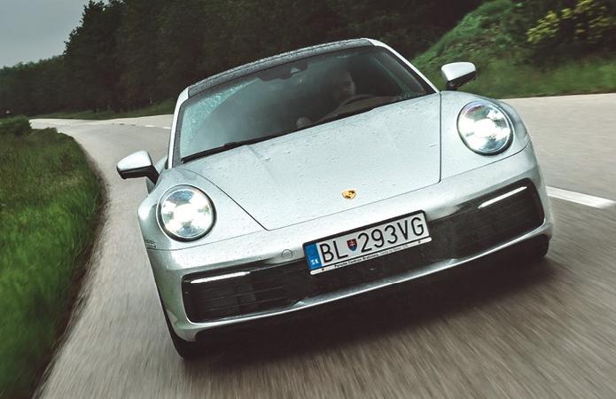 Prvá jazda s Porsche 911 (992)