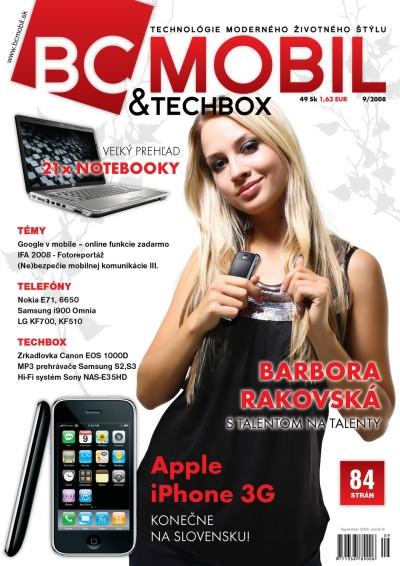 BCMOBIL & TECHBOX 9/2008