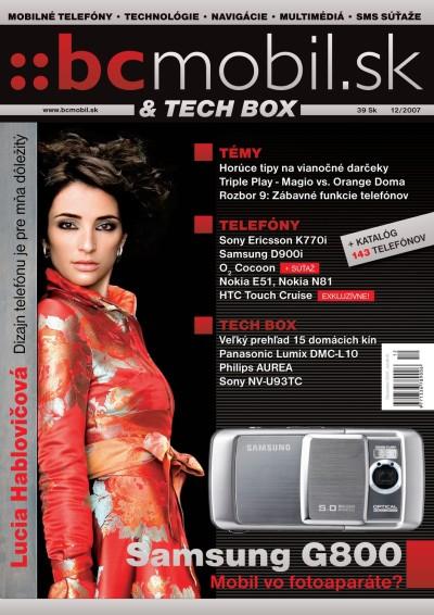 BCMOBIL & TECHBOX 12/2007